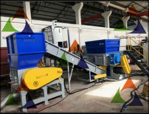 Plastic Crusher/Plastic Shredder/PVC Pipe Crusher/Pet Bottle Crusher/Double Shaft Shredder/LDPE Film Crusher/HDPE Shredder/Lump Shredder/LDPE Film Crusher/