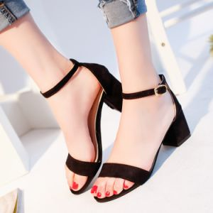 Fashion Shoes Woman Sexy Platform Sandals Heels Summer Shoes Sandals Women New High Heel Women′s Sandals Size 34-40 pictures & photos