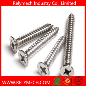 Phillips Countersunk Head Self-Tapping Screw in Stainless Steel 304 pictures & photos