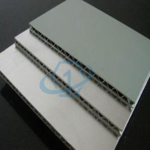 Onebond Aluminum Corrugated Sandwich Panel pictures & photos