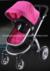 Rose Red Baby Stroller with Higher Quality pictures & photos