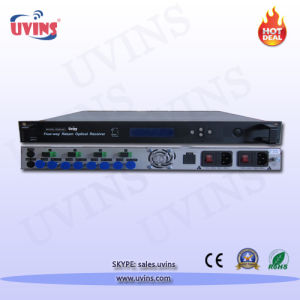 Optical Receiver/CATV Indoor Four-Way Return Optical Receiver pictures & photos