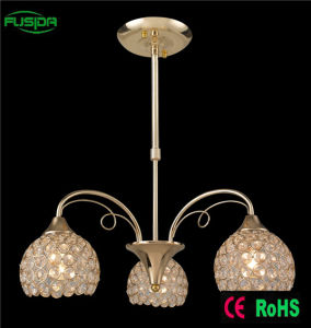 New Design 3 Lamps Crystal Chandelier Pendant Lighting For Hotel Decotive