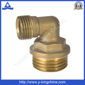 Brass Color Plumbing Tee Fitting (YD-6026) pictures & photos