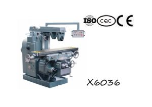 X6036 Horizontal Knee-Type Milling Machine pictures & photos