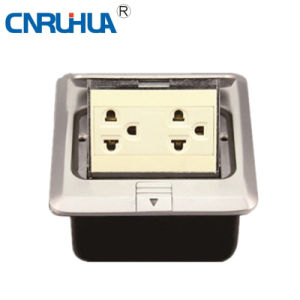 Manufacture OEM Worldwide American Multi-Functional Two-Way Floor Socket pictures & photos
