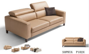 Sofa Furniture Leather Sofa Bed pictures & photos