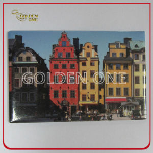 Promotional Offset Printing Tourist Metal Fridge Magnet pictures & photos