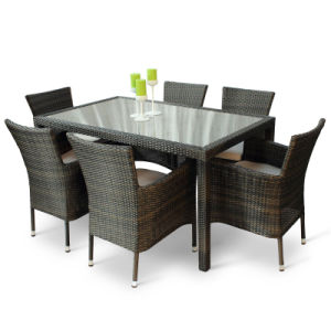 Rattan Chair Wicker Garden Outdoor Furniture Dining Set