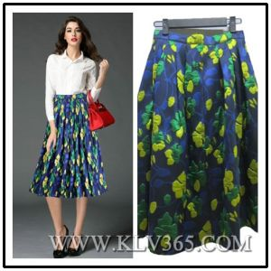 79619feaf8 China Latest Skirt Design Women Ladies Fashion Embroidered Floral ...