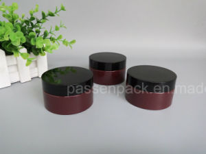 Colored Pet Plastic Jar for Cosmetic Cream (PPC-68) pictures & photos