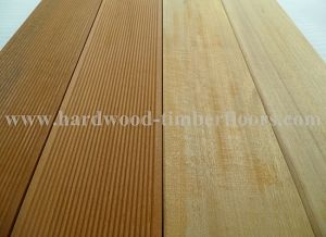 2015 Hot Sale High Quality Hardwood Outdoor Floor
