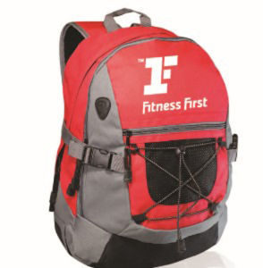 Fashion Waterproof Custom Promotion Polyester Sport Gym Travel Backpack