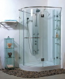 Hot Sale Clear Curved Toughened Glass for Shower Room
