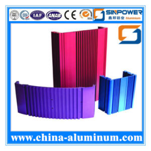 High Quality Polished Extruded Aluminium Profile