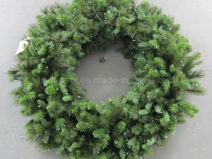 Prelit Christmas Wreath.China 120cm Pre Lit Christmas Wreath China Pine Needle Wreath