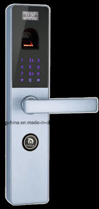 Fingerprint Password Security Door Lock (UL-680) pictures & photos