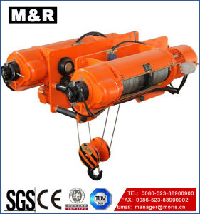 50 Ton Wire Rope Hoist of Famous Brand pictures & photos