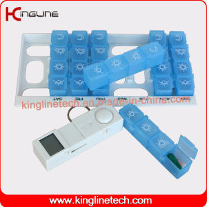 Any Color Time Alarm Pill Box (KL-9217) pictures & photos