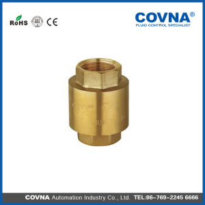 Brass Type Spring Check Valve for Water