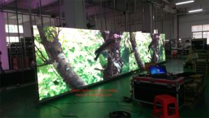 High Resolution Indoor P4 RGB LED Display for Rental pictures & photos