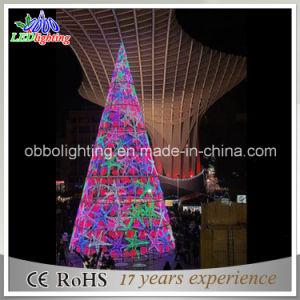 Big Christmas Tree Unique RGB Outdoor Lights