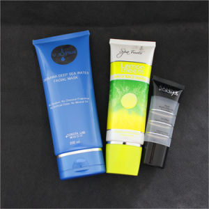 Oval Cosmetic PE Plastic Tube for Face Wash pictures & photos