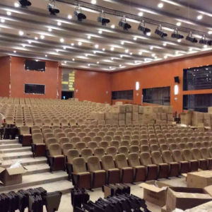 Auditorium Seats, Conference Hall Chairs, Plastic Auditorium Seat Auditorium Seating, Push Back Auditorium Chair (R-6137) pictures & photos