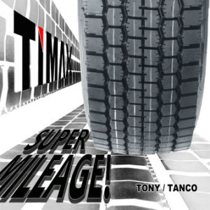 288000kms Timax Best Chinese Brand Truck Tyres 295/80r22.5 29580r22.5