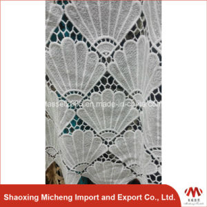 100% Polyester Guipure Lace for cloth 3010 pictures & photos