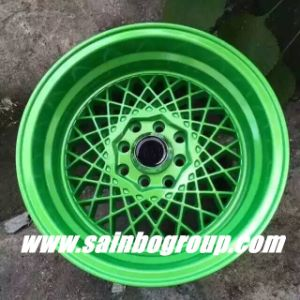 F55906 15inch Colorful Aftermarket Car Alloy Wheel Rims pictures & photos
