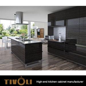 Veneer With Lacquer Finsihing Kitchen Cabinet Doors Tv 0473