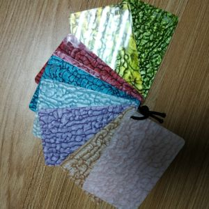 New Design Colorful Cast Pattern Acrylic Sheet for Decorate