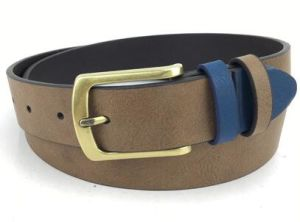 High Quolity Real Leather PU Men′s Belt Pass BSCI Test, (KB-1610059)