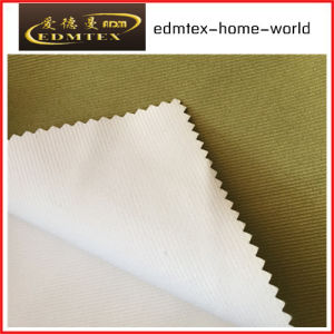 100% Polyester 3 Pass Blackout Fabric for Curtains EDM4621