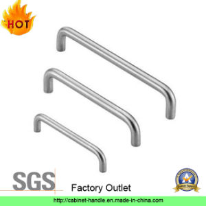 Factory Stainless Steel Furniture Cabinet Hardware Pull Handle (U 001)
