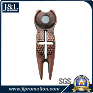 Die Casting Zinc Alloy Golf Divot Tool, Repair Tool pictures & photos