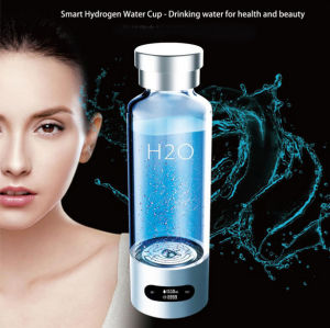 Smart Glass Cup Free Hydrogen Portable Water Bottle with APP