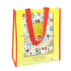 ISO/BSCI Promotional OEM Custom Foldable RPET Shopping Bag pictures & photos