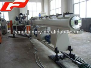 Good Quality Plastic Water Pipe Making Machine