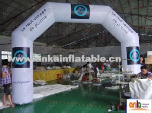 Big Inflatable Sports Race Finish Line Arch for Advertising Outdoor pictures & photos