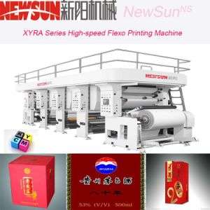 Xyra-1000 High-Speed Food Package Flexo Line Printing Machine pictures & photos