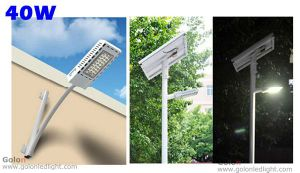 High Quality Solar Powered 12V 24V DC 30 Watts 30W Street Solar LED Luminaire Lighting pictures & photos