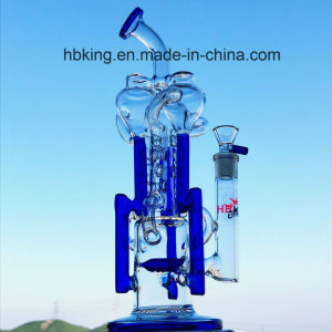 New Designs Recycler Tobacco Tall Color Bowl Glass Craft Ashtray Heady Beaker Bubbler Oil Rigs Glass Smoking Water Pipe