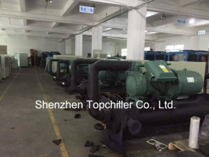 230000BTU/H Hanbell Screw Compressor Water Cooled Chiller Injection pictures & photos