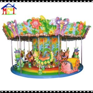 18 Seats Forest Carousel with Lights and Music Amusement Ride pictures & photos