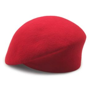 Solid Colour Ladie′s Wool Beret Hat