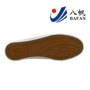 Men′s PU Upper Basic Canvas Shoes Bf1610201 pictures & photos