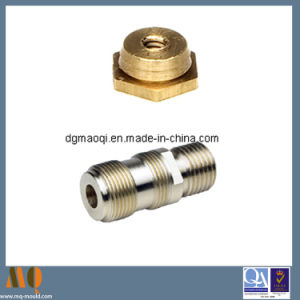 CNC Threaded Turning Part&CNC Lathing Part&Automotive Part (MQ039) pictures & photos