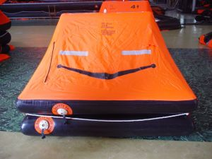 ISO9650 Standard 4persons Inflatable Life Raft for Yacht pictures & photos